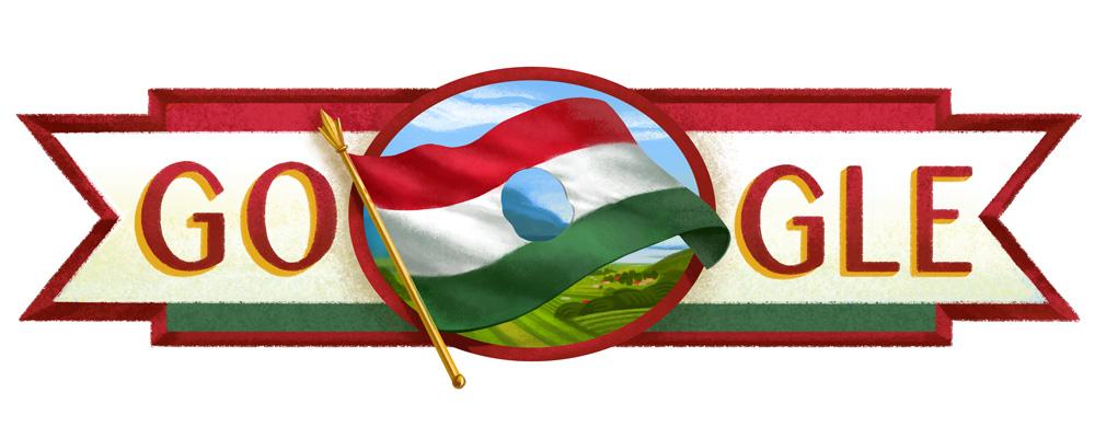 Google ünnepi logó 1956-2016