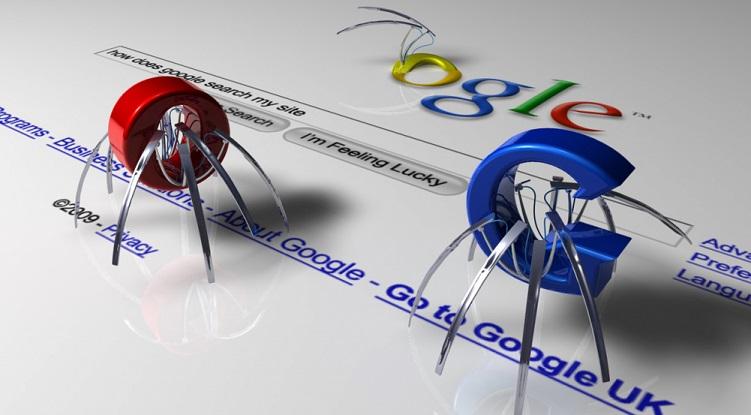 Keresőoptimalizálás (SEO): Google keresőrobot illusztráció - Marketing21