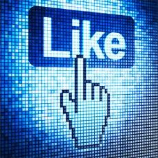 Facebook marketing illusztráció