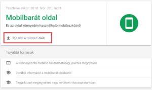mobilbarát teszt SEO trükkök