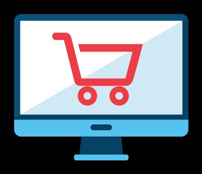 Webáruház - Online kereskedelmi forgalom - eNET - Webshop termék Marketing21