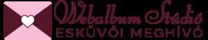 Webalbum Stúdió Esküvői Meghívók logó
