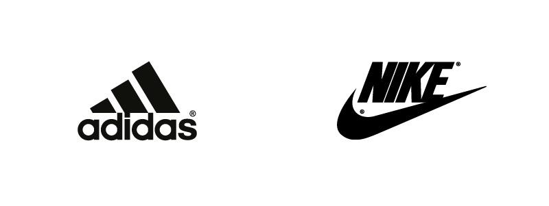 Az Adidas és a Nike is absztrakt szimbólumot használ